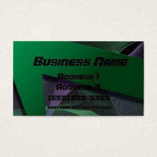 Edgy Business Card