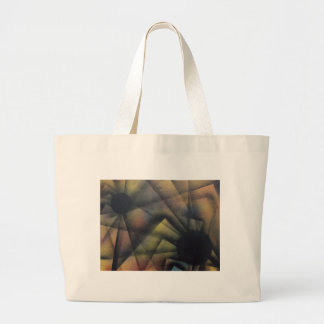 Edgy Spiders Large Tote Bag