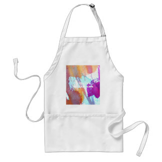 Edgy Watercolor Adult Apron