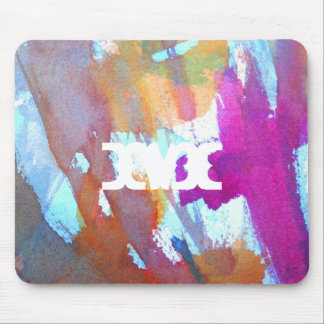 Edgy Watercolor Mouse Pad