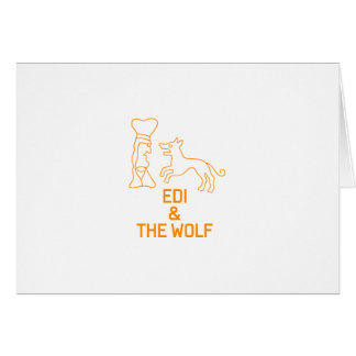 EDI & THE WOLF CARD