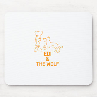 EDI & THE WOLF MOUSE PAD