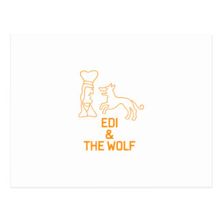 EDI & THE WOLF POSTCARD
