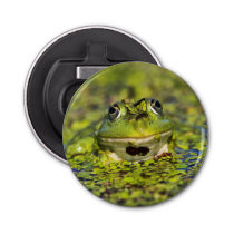 Edible Frog in the Danube Delta Bottle Opener