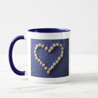 Edible heart mug