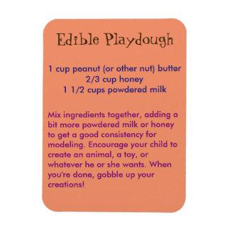 Edible Playdough Magnet