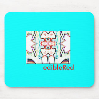 edibleRed limited edition mousepad