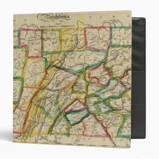 """Edición 1818 de Pennsylvania Carpeta 1 1/2"""""""