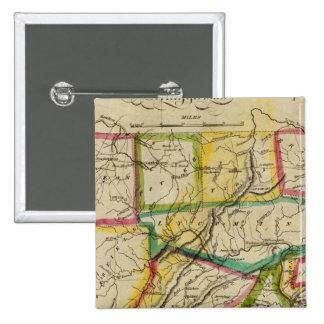 Edición 1818 de Pennsylvania Pin Cuadrado