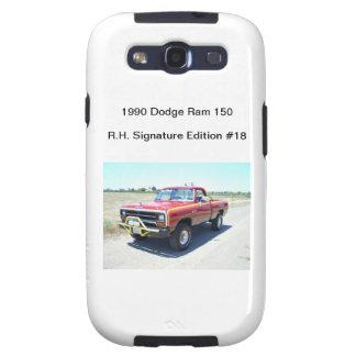 Edición 1990 de la firma de Rod Pasillo del espoló Galaxy S3 Carcasa