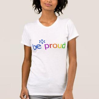 Edición 1 de BE_proud_rainbow echada a un lado Playeras