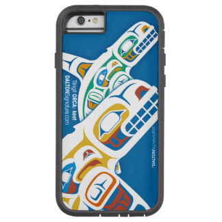 Edición 2014 de la orca del Tlingit para el iPhone Funda De iPhone 6 Tough Xtreme