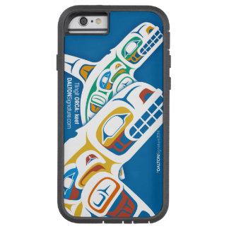 Edición 2014 de la orca del Tlingit para el iPhone Funda Tough Xtreme iPhone 6
