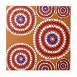 Edición aborigen azulejo ceramica