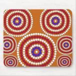 Edición aborigen tapete de ratones