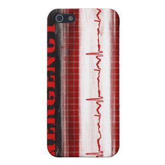 Edición de encargo del dolor de pecho del ER iPhone 5 Coberturas
