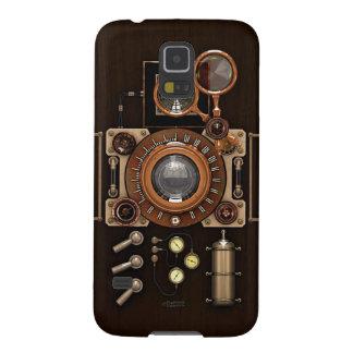 Edición de la oscuridad de la cámara del vintage carcasa de galaxy s5