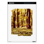 Edición de oro del bosque de la primavera pegatinas skins para iPad 3
