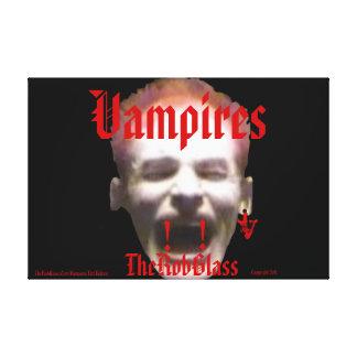 edición de VampireArt TheRobGlass FangsV Vampires Impresiones De Lienzo