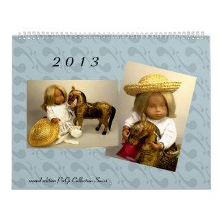 Edición del calendario 2013 de las muñecas de