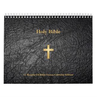 Edición del calendario de la Sagrada Biblia