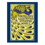 Edición del pavo real, Illustraded de MacMillan Tarjeta Postal