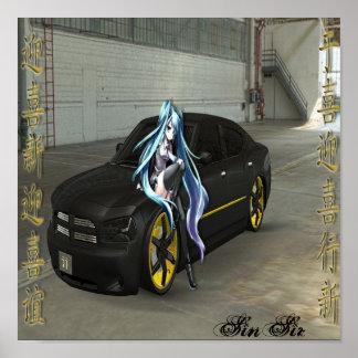 Edición Dodge de SinSir Póster