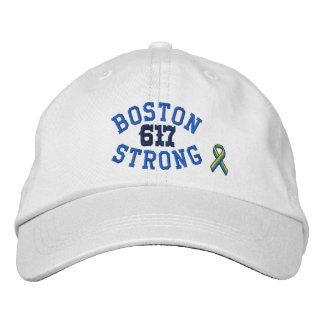 Edición fuerte de 617 cintas de Boston Gorra De Béisbol Bordada
