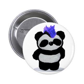 Edición grande 2010 de la panda pin redondo de 2 pulgadas