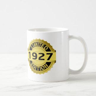 Edición limitada 1927 taza básica blanca
