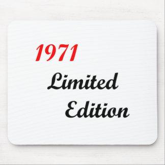 Edición limitada 1971 alfombrillas de ratón