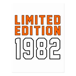 Edición limitada 33 diseños del cumpleaños tarjeta postal