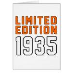 Edición limitada 80 diseños del cumpleaños tarjetón