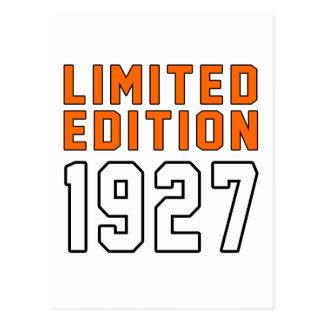 Edición limitada 88 diseños del cumpleaños tarjeta postal