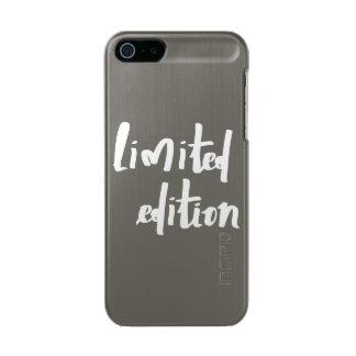 edición limitada carcasa de iphone 5 incipio feather shine