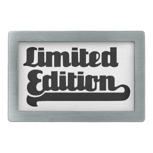 Edición limitada hebilla de cinturon
