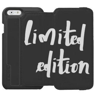 edición limitada funda cartera para iPhone 6 watson
