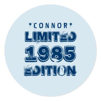 """edición trigésimo V5Z de 1985 o de Any Year Invitación 5.25"""" X 5.25"""""""