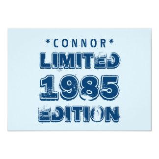 """edición trigésimo V5Z de 1985 o de Any Year Invitación 5"""" X 7"""""""