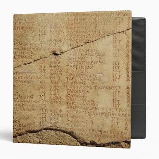 Edict of Emperor Diocletian 3 Ring Binders