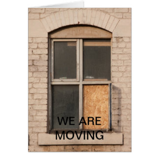 Edificio abandonado estamos moviendo la tarjeta