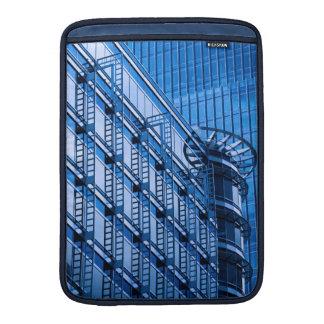Edificio azul fundas MacBook