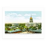Edificio centenario del capitolio, Springfield, Tarjetas Postales