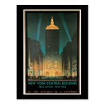 Edificio central de Nueva York, febrero de 1930 Tarjeta Postal