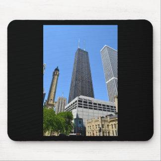 Edificio céntrico de Chicago - de Juan Hancock Alfombrilla De Raton