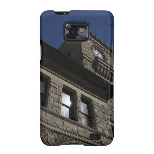 Edificio con la torre de reloj, San Jose céntrico Samsung Galaxy S2 Carcasas