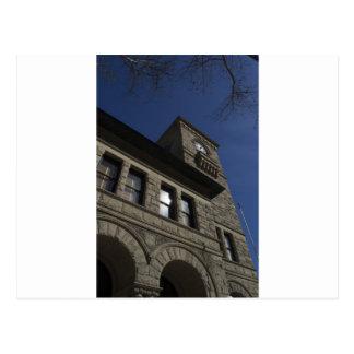Edificio con la torre de reloj, San Jose céntrico Postal