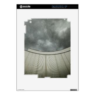 Edificio de acero calcomanía para iPad 2