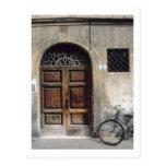 Edificio de ciclo de Italia del ciclo de la bicicl Tarjetas Postales
