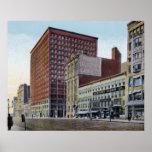 Edificio de Cleveland Ohio Rockefeller Poster